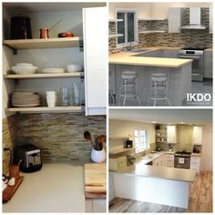 This gorgeous #IKEA kitchen looks inviting after IKDO's redesign. See how it was transformed with less than $4000!