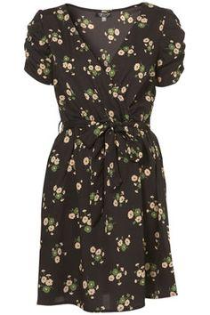Daisy Wrap Tea Dress - StyleSays
