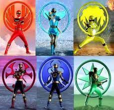 Symbols Of Ninja Storm Rangers Power Art Team