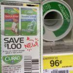 Free Curad waterproof Tape At Wamart - http://www.couponoutlaws.com/free-curad-waterproof-tape-at-wamart/