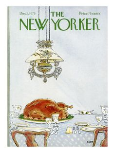 The New Yorker Cover - December 1, 1975 Premium Giclee Print