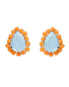 The Mango Teardrop Studs by JewelMint.com, $20.00