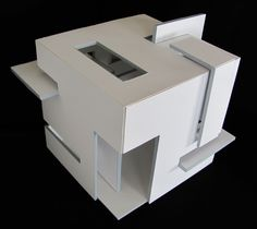 Deconstruct Cube: Prerequisite Studio (Summer 2011) by Isabelle Ghabash, via Behance