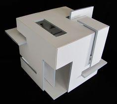 Deconstruct Cube: Prerequisite Studio (Summer 2011) by Isabelle Ghabash, via Behance