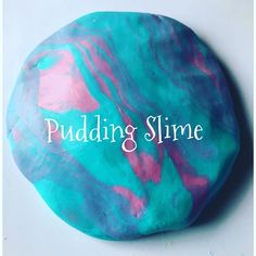 Pudding Slime - Edible, safe, non-toxic slime- great for toddlers, preschoolers and school-aged children. Ready made vanilla pudding,…
