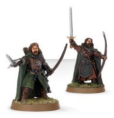 Captured by Gondor: Faramir and Damrod