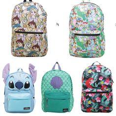 More new backpacks from More new backpacks from Hot Topic Disney, Cute Disney, Disney Style, Disney Handbags, Disney Purse, Disneyland Trip, Disney Trips, Stitch Backpack, Estilo Disney