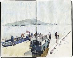 The Holy Isle Ferry by Wil Freeborn, via Flickr