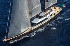 Великолепная океанская яхта SEAHAWK 197 от компании Perini Navi