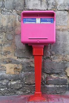 The Pink Letter Box by vincen-t, via Flickr