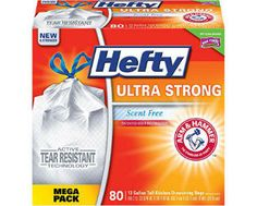 Enter to Win a Hefty Ultra Trash Bags Giveaway - Ends September 8th at Midnight