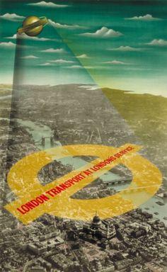 london underground posters, vintage