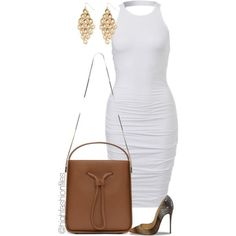 A fashion look from July 2015 featuring Christian Louboutin pumps, 3.1 Phillip Lim shoulder bags and Forever 21 earrings. Browse and shop related looks.
