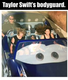 Is that the Terminator ? #TaylorSwift