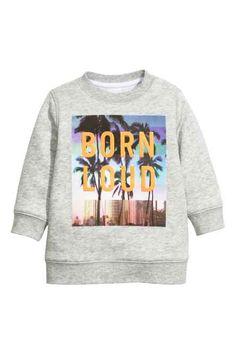 H&M - Printed sweatshirt £7.99