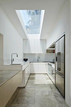 60 Elegant Kitchen In Scandinavian Style To Get Super Sleek Inspiration - Page 34 of 57 Elegant Kitchens, Black Kitchens, Beautiful Kitchens, Beautiful Homes, Black Kitchen Cabinets, Old Kitchen, Scandinavian Style, Kitchen Design, Kitchen Decor