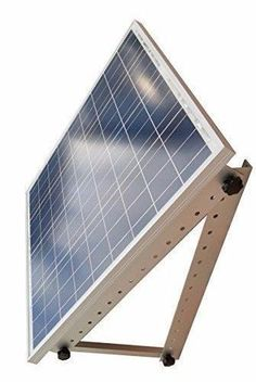 Adjustable Solar Panel Mount Mounting Rack Bracket -- Boat RV Roof Off Grid for sale online Solar Power Panels, Solar Projects, Off The Grid, Diy Car, Pergola, Creativity, Home And Garden, Tools, Architecture