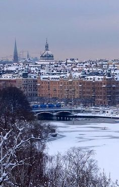 Winter in Stockholm, Sweden | by redhead91