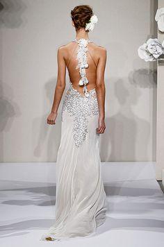 Beautiful details.   Wedding dresses by Pnina Tornai, 2013