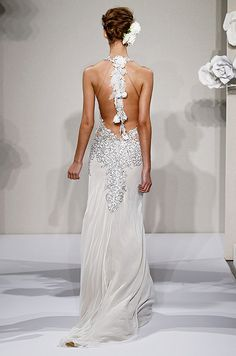 Beautiful details. | Wedding dresses by Pnina Tornai, 2013