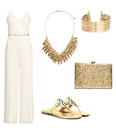 Homecoming by glitterbatgirl-5sos on Polyvore featuring polyvore, fashion, style, H&M, Tory Burch and clothing