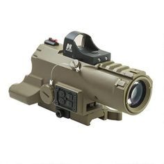 NcStar Eco 4x34mm Prismatic Scope Blue ill, Tan, NcStar Vism ECO prismatic scope combined with the NcSTAR Green Micro Dot, giving you the Ultimate Enhanced Combat Optic Combo! $219.99 #optics #guns