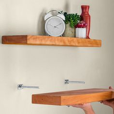 heres a great diy floating shelf tutorial by woodworkers journal visit ryobi nation and get - How To Make Floating Shelves
