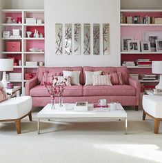 53 awesome purple and pink sofa images pink couch pink sofa color rh pinterest com