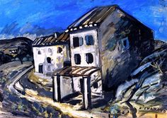 House along the Road Auguste Chabaud - circa 1910-1912