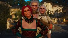 I'm a big fan of Witcher games and books. My favorite character is Triss Merigold, but I'm a sucker for sorceresses. Triss Merigold Witcher 3, Witcher 3 Geralt, Witcher Art, Geralt Of Rivia, Ciri, The Witcher Wild Hunt, The Witcher 3, Mass Effect Universe, Hail Storm
