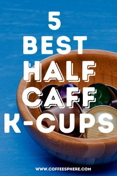K-Cups are one of the few single-serve brewing choices that offer a tremendous variety of flavors to choose from for your daily needs. They were made by Keurig, but nowadays, there are many single-serve coffee makers on the market that are compatible with these cups. And you can use reusable ones as well. Here are 5 best half caff k-cups you can use with your Keurig or other single serve brewer. K Cups, Keurig, Brewing, Choices, Presentation, Good Things, Coffee, Kaffee, Cup Of Coffee