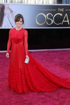 Oscars - Who doesnt love Sally Field! She looks so elegant in this Valentino Fall '12 gown.