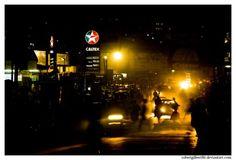 Kampala, Uganda - nighttime...
