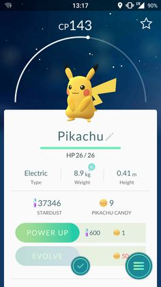 Pikachu #pokemongo
