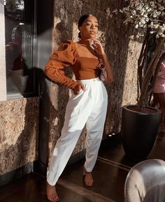 has always been one of my favourite style icons! I just love her style! Classy Outfits, Chic Outfits, Fall Outfits, Fashion Outfits, Womens Fashion, Black Girl Fashion, Fashion Looks, Style Fashion, Date Outfit Summer
