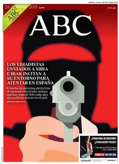 La portada de ABC del lunes 24 de agosto