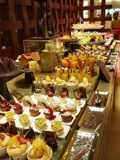 Dessert buffet by aueeie, via Flickr