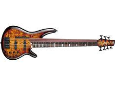 2010年にリリースされ大きな話題を呼んだIbanezの阿修羅ベースが、リニューアルし第二世代としてカムバック! それがこの限定モデル「Ibanez/SRAS7-DEB」だ。前世代は6弦で1&2弦がフレットレス仕様だったが、なんと今回は7弦。そしてスラップ奏法による影響を考慮し、1〜4弦(の指板)はフレッテッド、5〜7弦はフレットレスという仕様になっている。さらに低音弦側のハイ・ポジションへのア...
