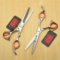 5.5 Inch 16cm Japan Kasho Professional Human Hair Scissors Salon Hairdressing Scissors Cutting Shears Thinning Scissors H1009