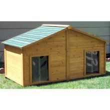 Simply Cedar Insulated Duplex Dog House - Large  $770online
