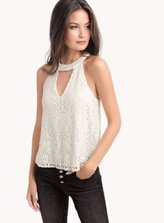 e7c49cb7bd4cd1 Amberline V-Neck Swing Tank. Ella MossLace ...