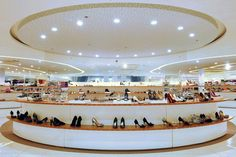 SM shoes department, Makati – Philippines » Retail Design Blog