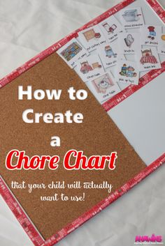 Do you struggle with wanting your children to do their chores independently? Learn how to create a chore chart that your child will actually WANT to use! Trust me as a mom of 3 little ones, this WORKS!