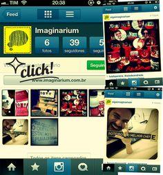 Tá no Instagram! Basta procurar @sigaimaginarium, dar aquele follow esperto e interagir com os nossos cliques.