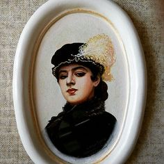 """Портрет. Копия. """"Неизвестная"""" Крамского. Продаётся. #портретпофото #портретмасломназаказ #подарок #копиякрамского #неизвесная #portrait #oilpainting #art #lyudmilakravtsova #людмилакравцова #l_kravts"""