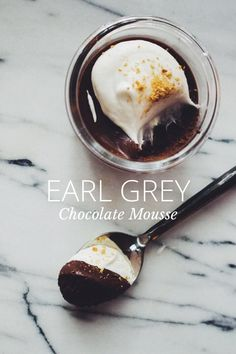 Earl Grey Chocolate Mousse