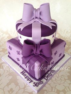 1000 Images About Parcel Cakes On Pinterest Gift Box