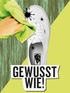How to: weiße Sneakers reinigen