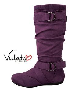 Flat Suede Boots - Fall Fashion Only $29.90! http://vulatafashion.com/shop/boots/flat-suede-boots/