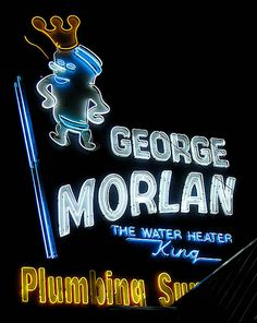 Morlan Plumbing by Vintage Roadside, via Flickr